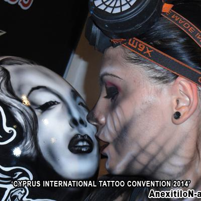 Anexitilon Alive Art Cyprus International Tattoo Convention