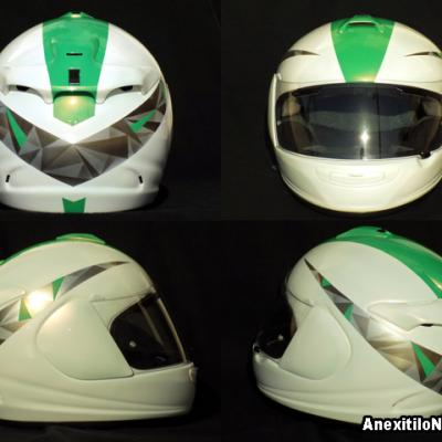 Arai Helmet Custom Graphics Touring Bike Helmet By Anexitilon