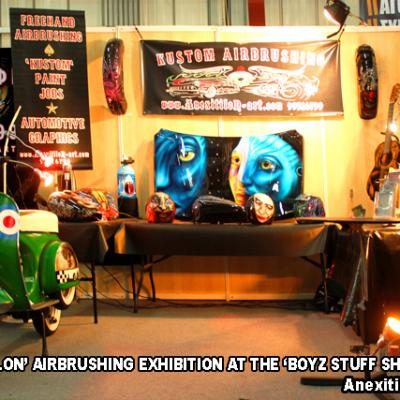 Boyz Stuff Show 2014 Exhibition By Savvas Koureas The Kustom Kulture Adventure Cyprus