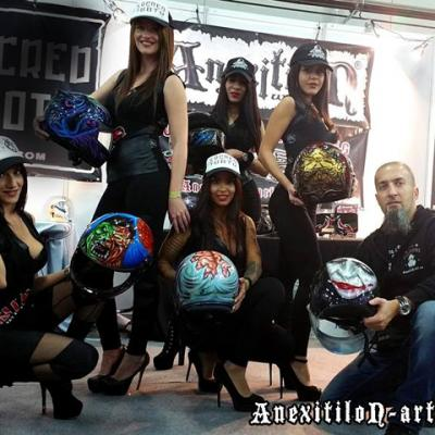 Car Show Anexitilon Booth And Promo Team