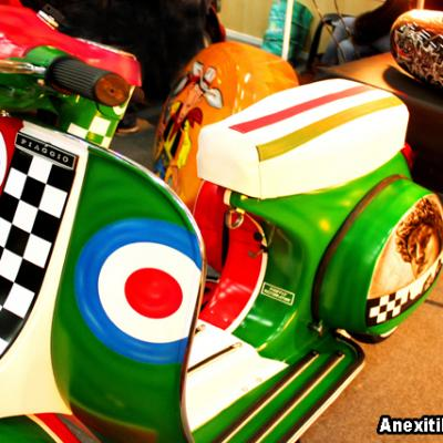 Custom Vespa Airbrushing Airbrushed By Savvas Koureas Nicosia Vespa Club