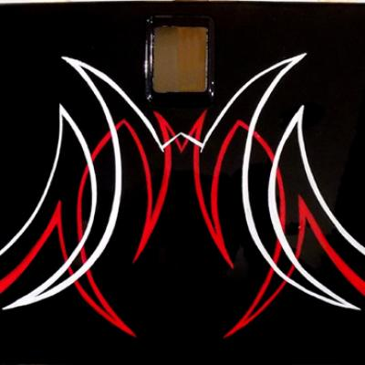 Freehand Pinstriping Art By Savvas Koureas Anexitilon