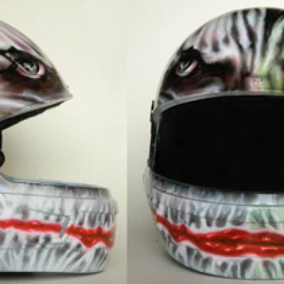 Joker Helmet By Savvas Koureas 3 2013 Auto Air Colors Cyprus