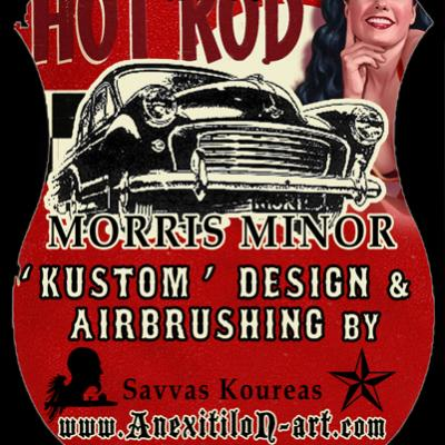 Morris Minor Kustom Hot Rod By Anexitilon Art Work Cyprus