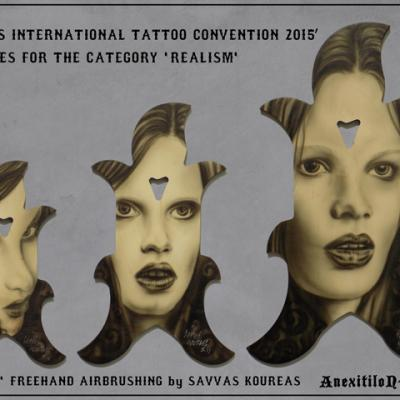Realism Trophies Cyprus International Tattoo Convention Ii By Savvas Koureas