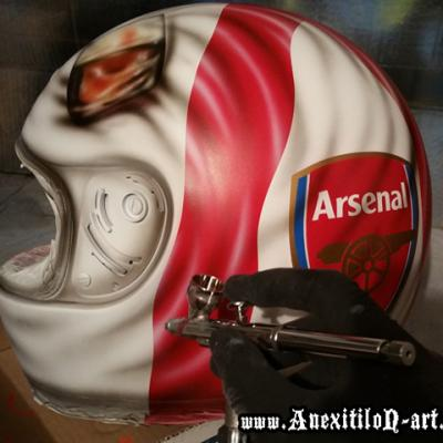 Saint George Flag Of England Airbrush Art By Anexitilon