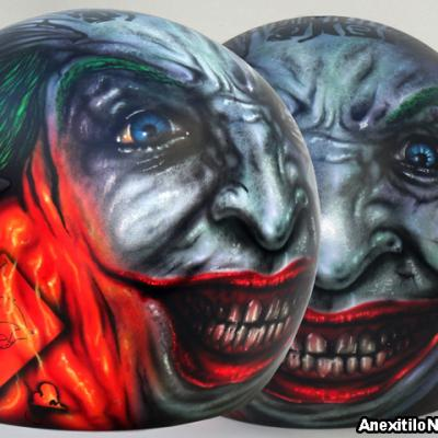 Why So Serious 5 6 By S.koureas Www.anexitilon Art.com Helmet Airbrushing Nicosia