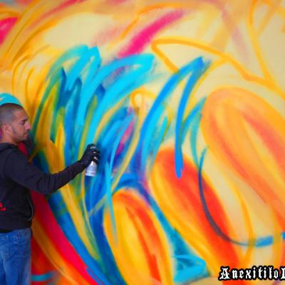 Freehand Freestyle Wildstyle Graffiti Art Process By Anexitilon