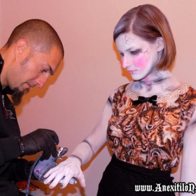 Airbrushing For A Theatrical Photo Shooting 3