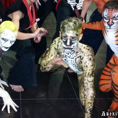 Extreme Animals Podypainting Body Art By Anexitilon